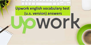 oDesk English Vocabulary Test (U.S. Version) Answers