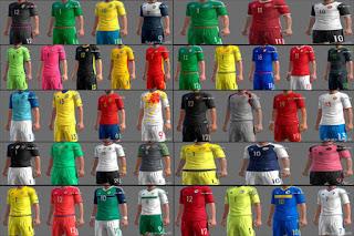 Kits euro 2016 Pes 2013