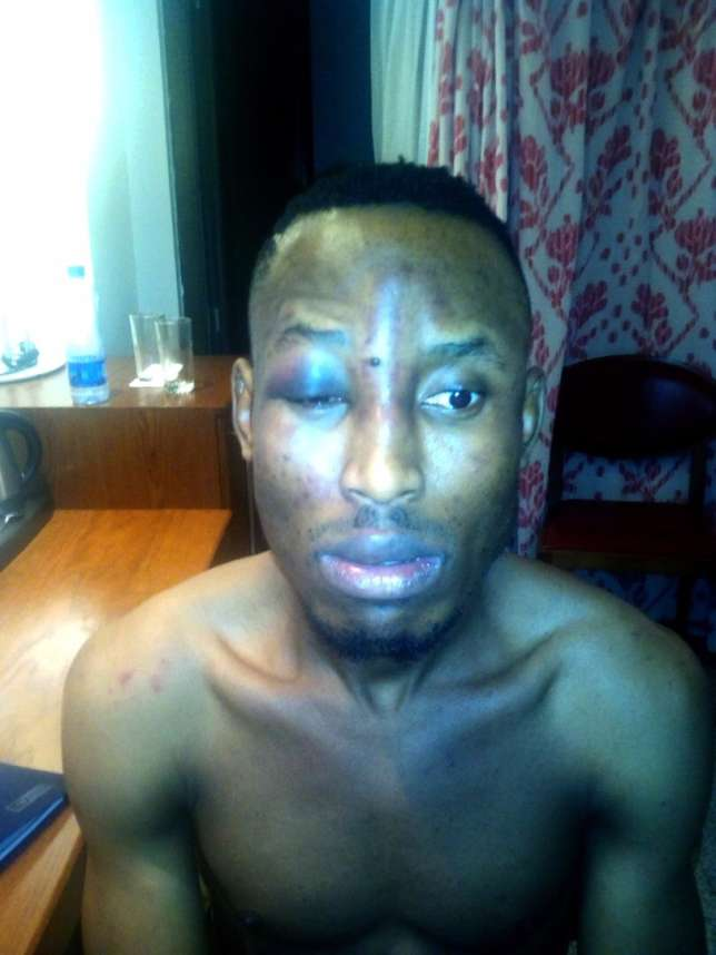 Nigerian music producer, Gospel, robbed in his hotel room in Sandton, S.A