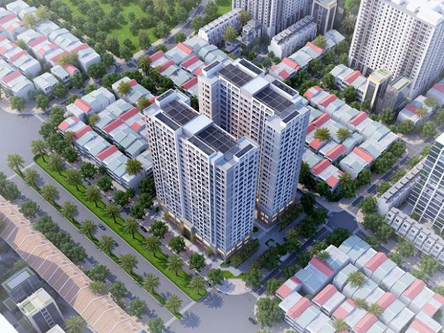 Green Link City - nhà ở xã hội Tiên Dương Đông Anh, Thành phố liên kết xanh