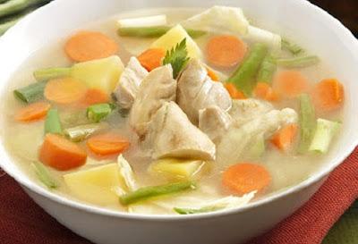 Cara Ampuh Mengatasi Hidung Tersumbat dengan Sup ayam