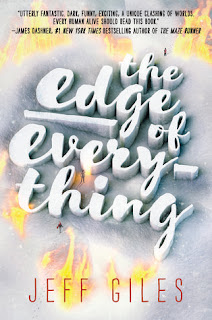 The Edge of Everything by Jeff Giles book cover