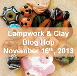 Lampwork and Clay Blog Hop