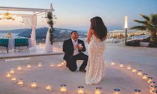 حلاوة طلب الزواج من حبيبته بطريقة ومانسية