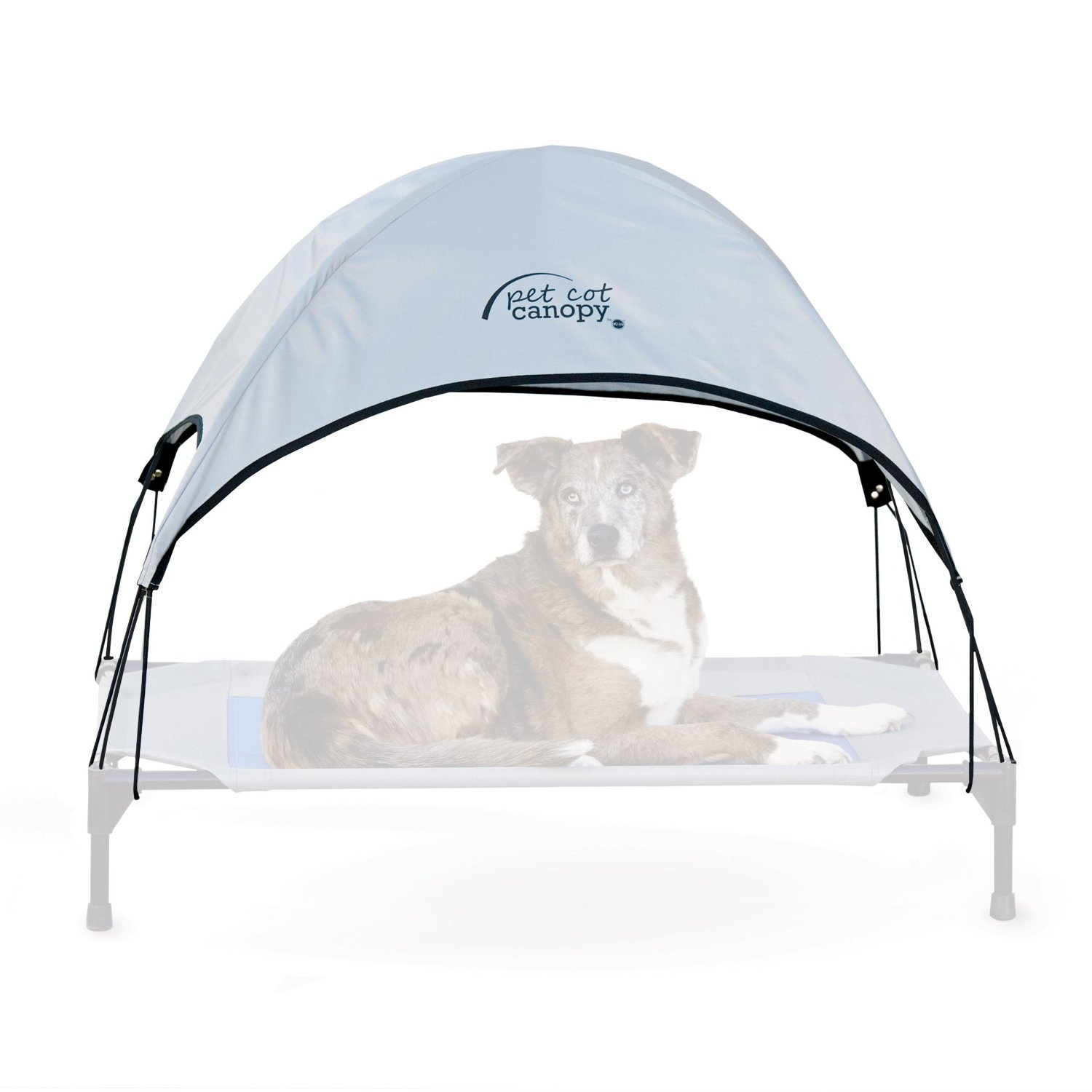 Covered Dog Shade, Portable | 13 Ways to Keep a Dog Cool this Summer (www.danslelakehouse.com)