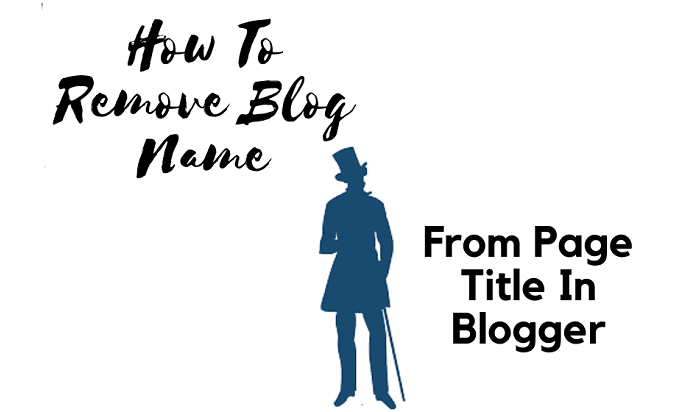 Remove Blog Name