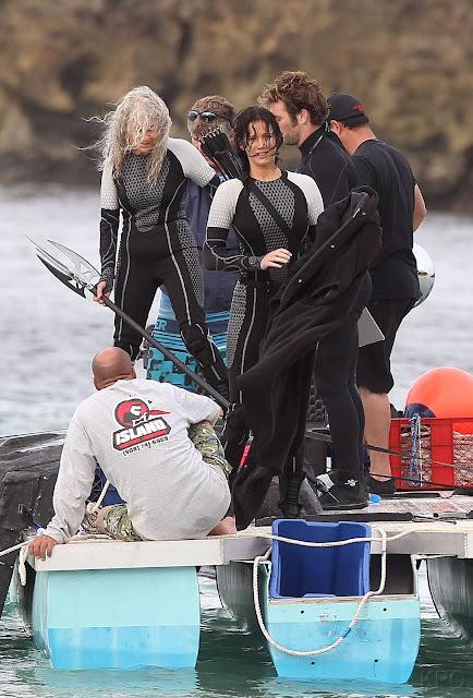 PHOTOS: Jennifer Lawrence, Josh Hutcherson & Sam Claflin ...