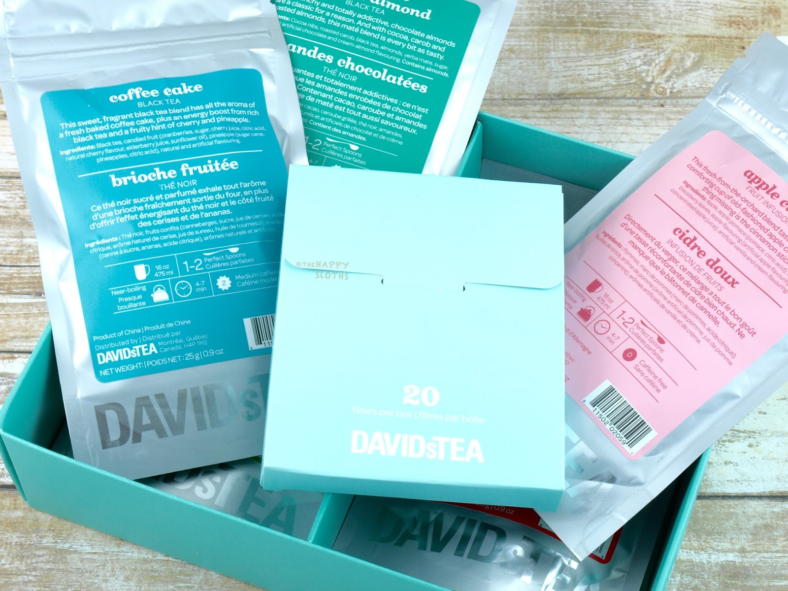 DAVIDsTea Warm and Cozy Teas