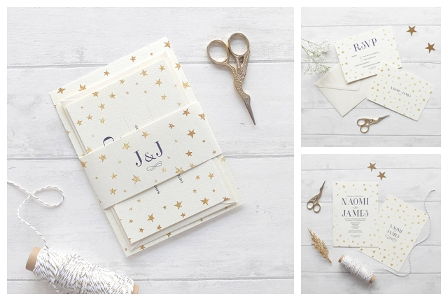 my top three winter wedding invitations