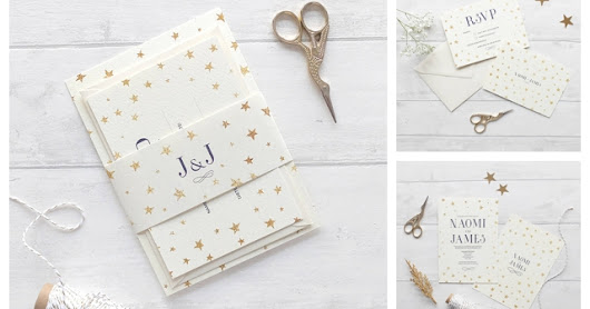 Three Winter Wedding Stationery Ideas