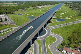 Pont Du Sart Aqueduct in Belgium