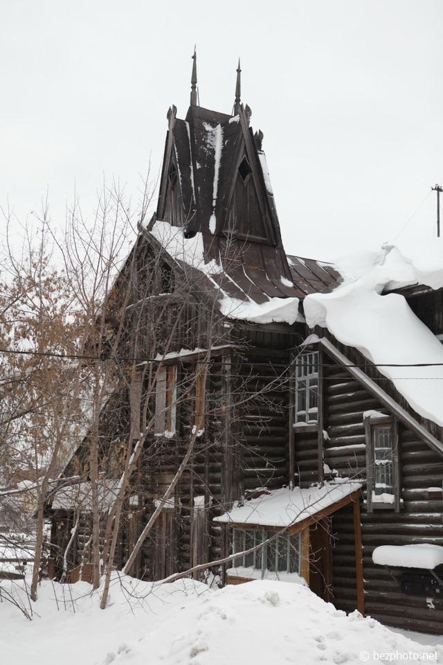 деревянный модерн томск