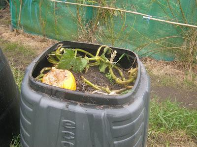"Plastic ""Dalek"" Compost Bin"