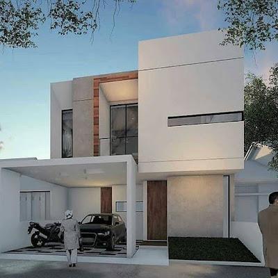 desain rumah amerika