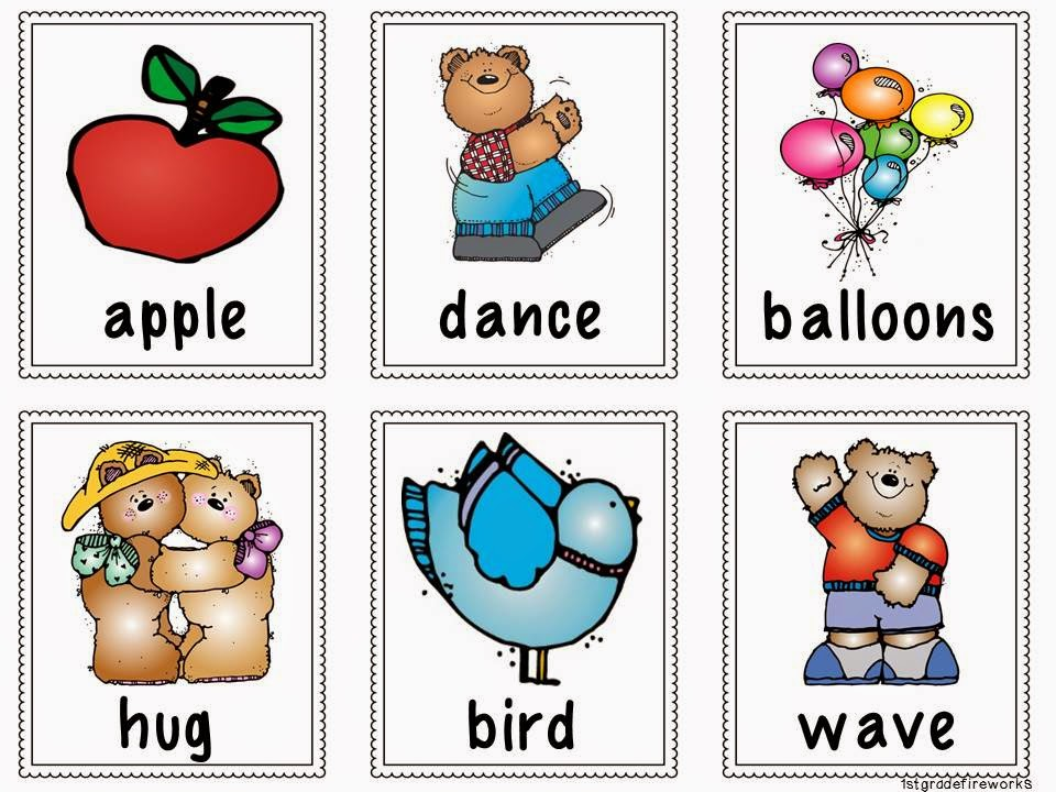 Noun or Verb Cards