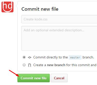Cara Mudah Hosting Kode CSS dan JavaScript ke GitHub