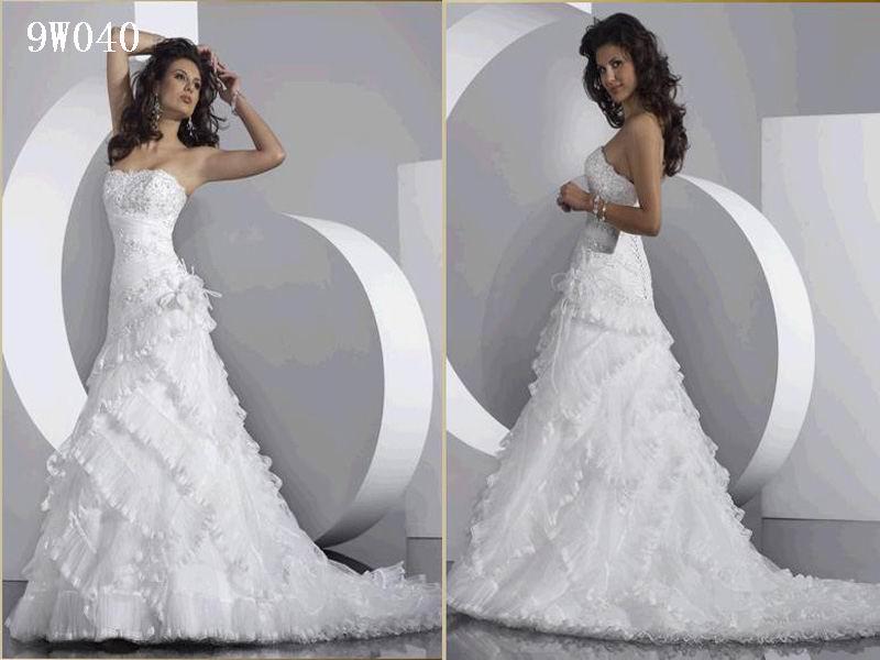 Strapless Mermaid Wedding Gown: D'sexy Strapless Mermaid Wedding Dress
