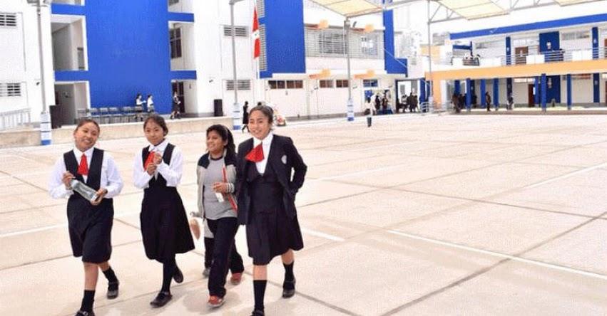 MINEDU: Mayoría de colegios de Lima ya recibió fondos para mantenimiento de sus locales
