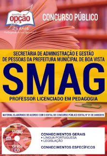 Apostila Concurso SMAG 2018 PDF - Professor Pedagogia