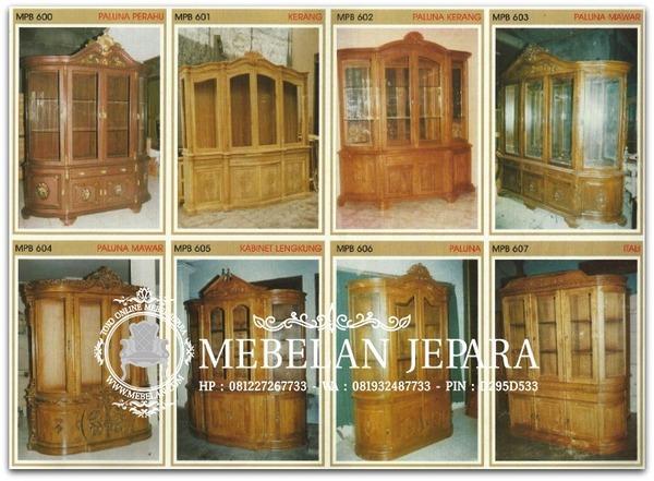 Bufet Jati Mebel Ukir Jepara MPB 2007-2