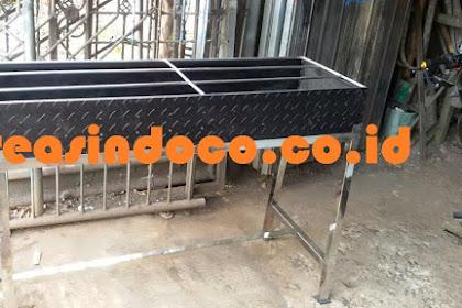 Bakaran Ayam Bahan Stainless Steel  Buat Rumah Makan GGG di Bogor
