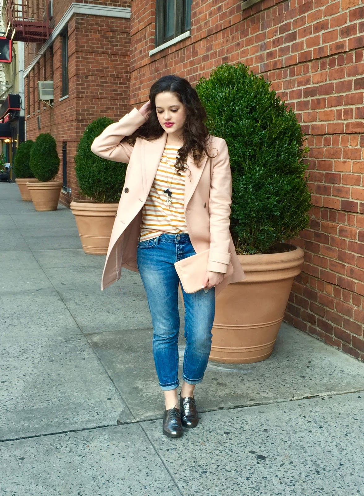 Pink blush outfit