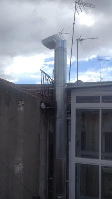 foto tubos homologados salida de humos