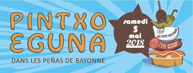 Pintxo Eguna Bayonne 2018
