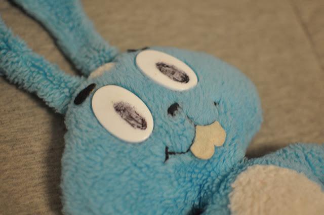 Sansão com defeitos nos olhos