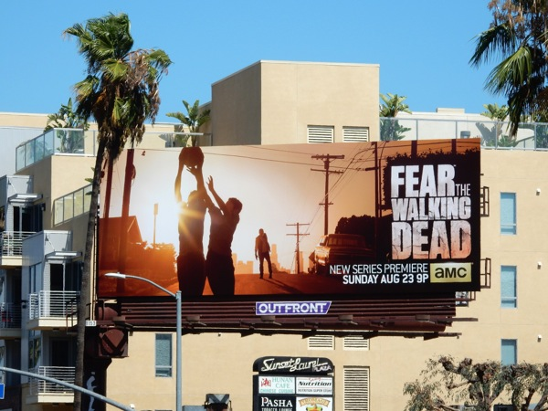 Fear the Walking Dead series billboard