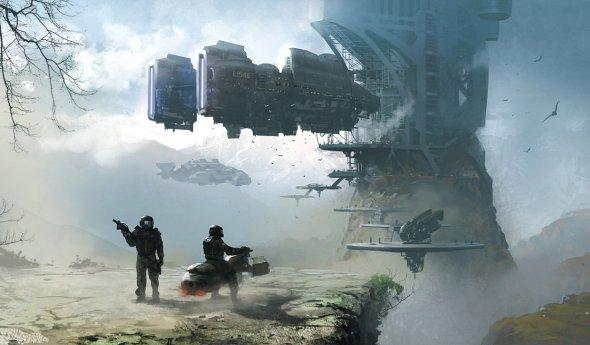 Jan Ditlev Christensen ilustrações fantasia ficção científica games entretenimento