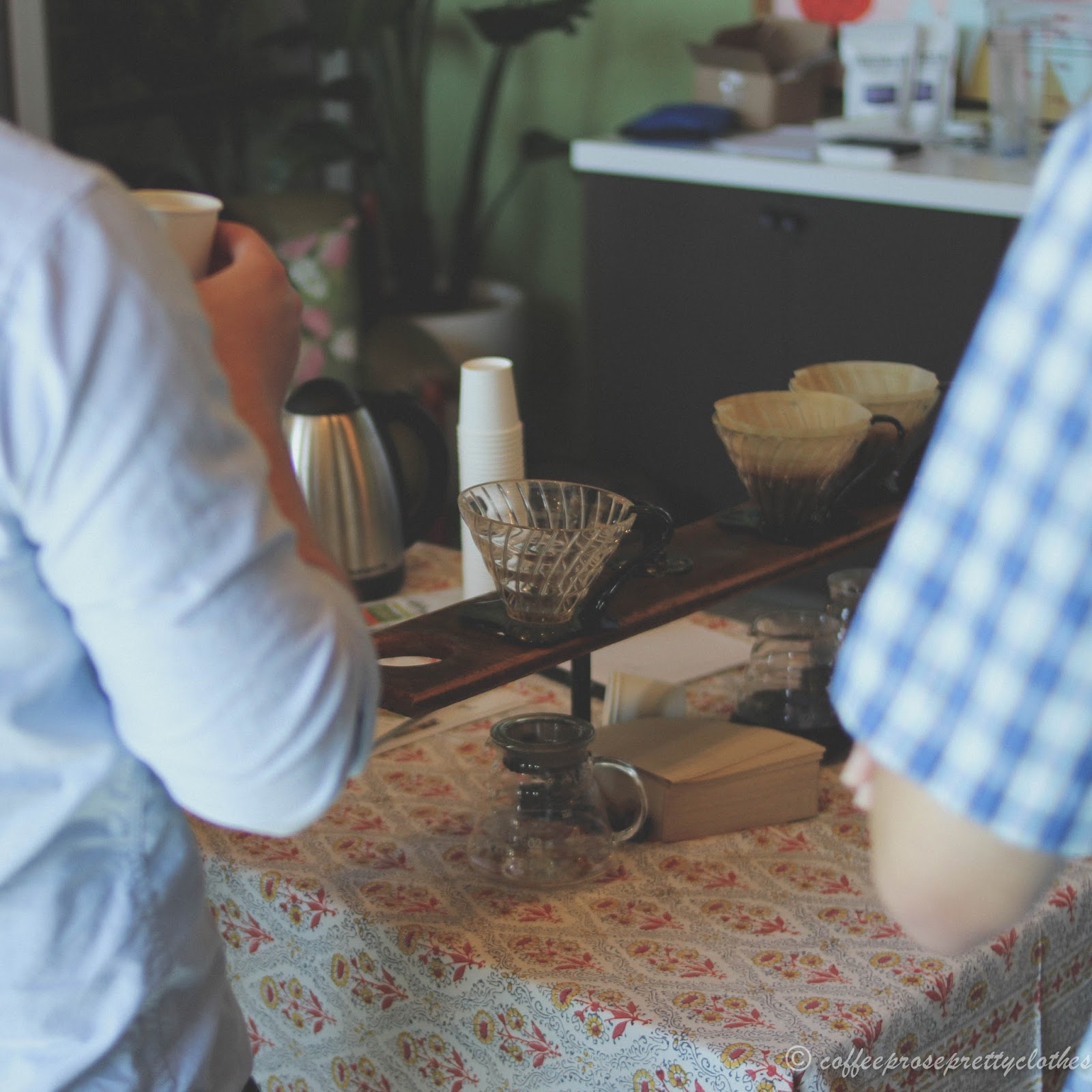 Coffee brewing, the Wydown, Coffee roasting,