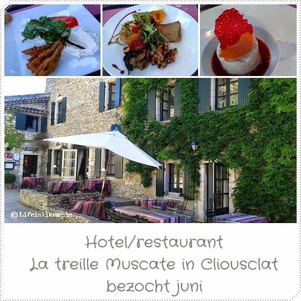 Veggie en vegan en france tartelette maison - Restaurant cliousclat la treille muscate ...