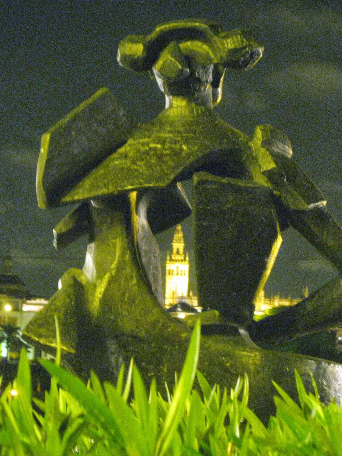 Seville - Juan Belmonte sculpture