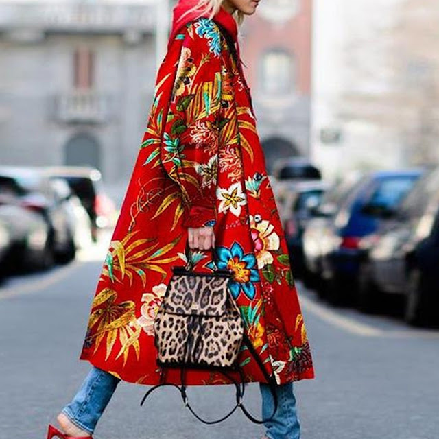 floral jacket coat