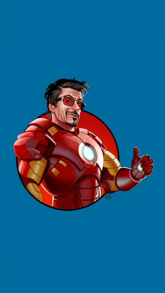 Iron Man 3 Robert Downey Jr  Galaxy Note HD Wallpaper