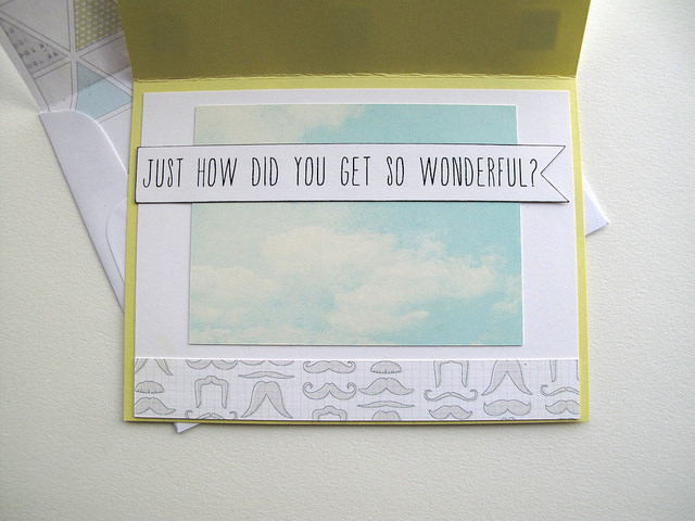 Free mustache card Silhouette print & cut file - from mel stampz (inside)