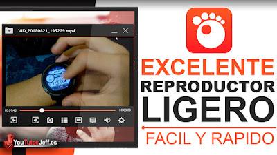 reproductor de video y musica para windows