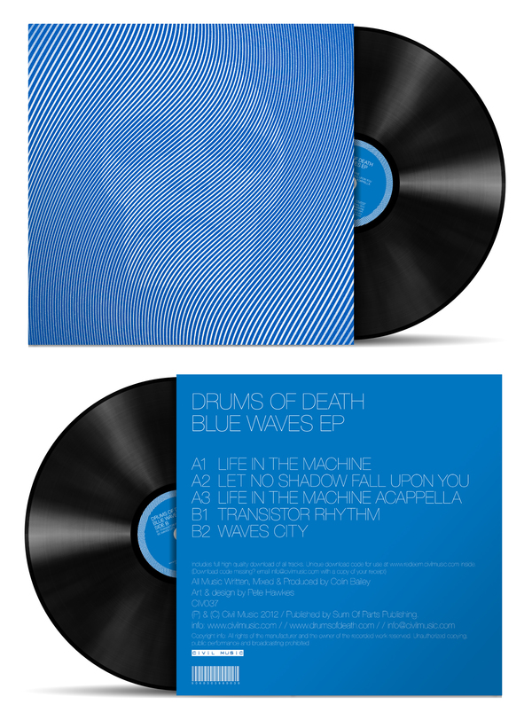 Plastic Circles Drums Of Death Blue Waves Ep 12 Quot By