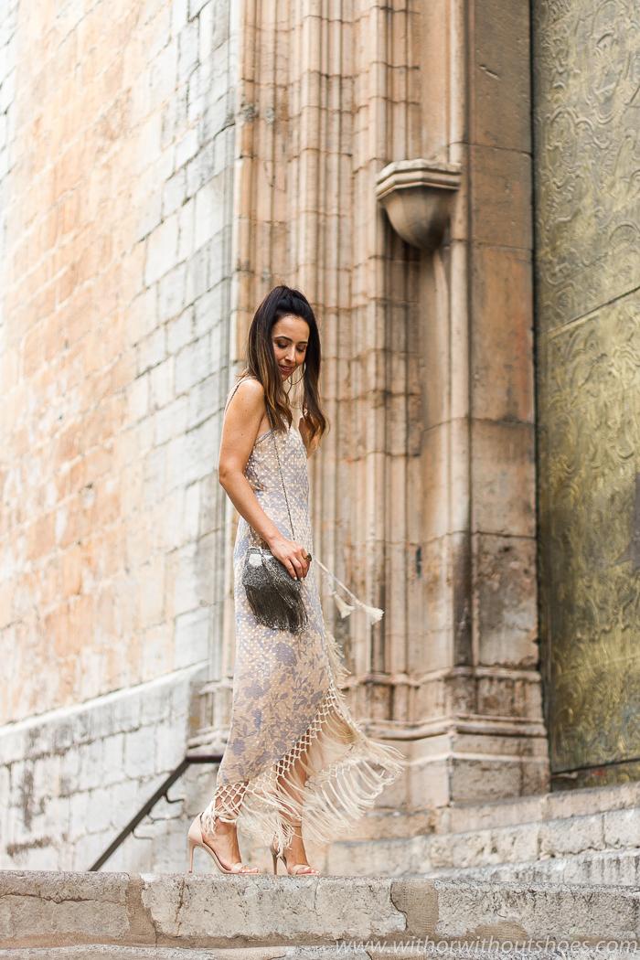 Ideas de blogger influencer para vestir en fiesta boda bautizo celebraciones look con estilo chic elegante moda