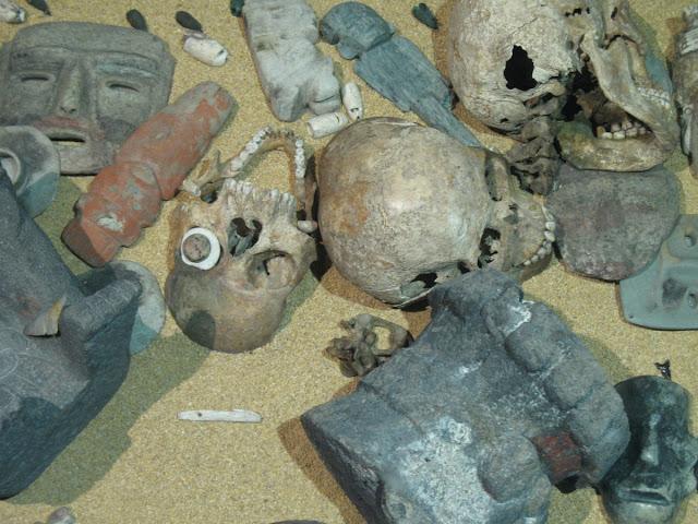 Mystery of the gruesome Aztec skull masks solved