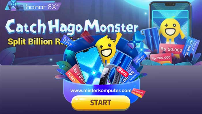 Catch Hago Monster, Game Berbasis Augmented Reality dari HAGO