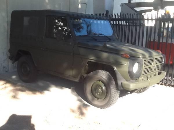 1990 Mercedes-Benz Military 4x4 G-Wagen