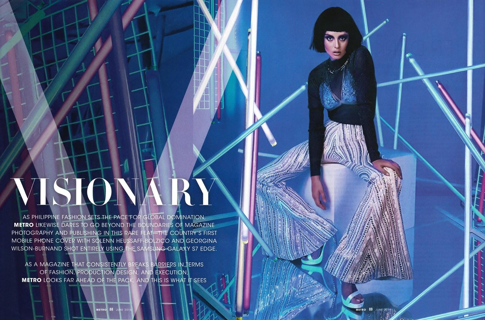 Fashion Media PH: Georgina Wilson by Bj Pascual for Metro ...  Jake Ejercito And Georgina Wilson