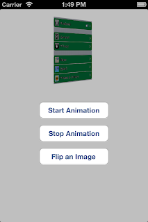 iOS UIImageView end flip animation