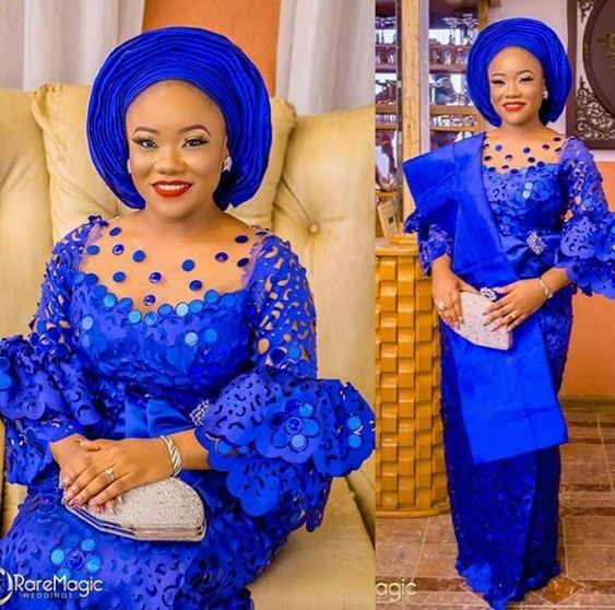Latest Asoebi Lace For The Weekend