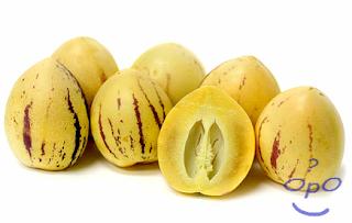 Opo - Manfaat buah pepino untuk kesehatan