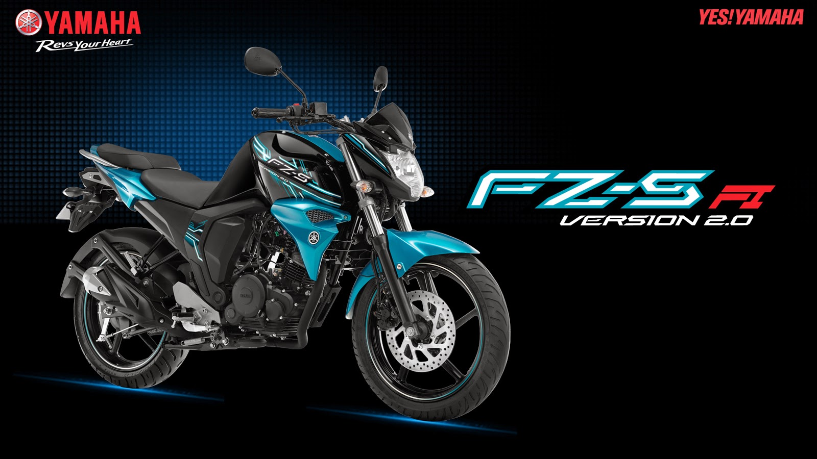 Yamaha FZ (FI) Series Version 2 0 Blue core | Baday