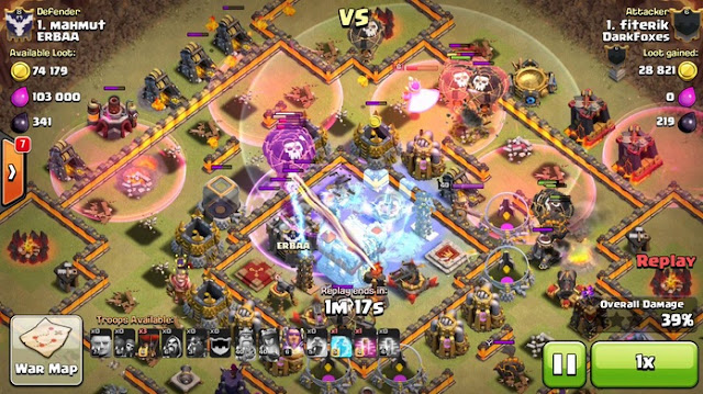 [CLASH OF CLANS] CARA WAR ATTACK TH 11 DENGAN GOWIWI LAVALOON GOPEHO