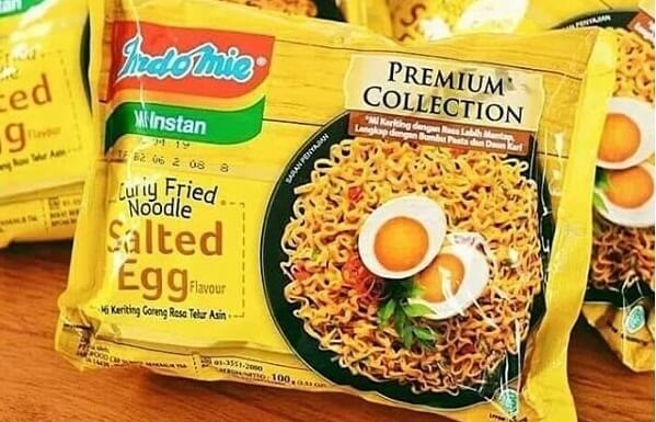 review indomie salted egg telur asin